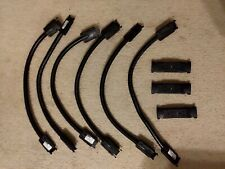 Byrne Power Cable System (6) Cables Be41917-3-A-1-8B And (3) Socket Be41920-3-24