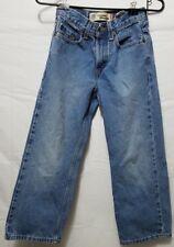 Lev's Womens Size 9 Denim Jeans Light Wash 569 Straight Regular Loose Short AA01
