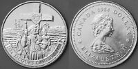 1984 Canada Commemorative Dollar Jacques Cartier