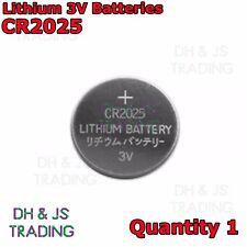 CR2025 3V Lithium Coin Battery Watch Car Alarm Key Fob Toy Camera CR 2025 3 v