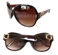 NWOT GUESS GF0266 Womens Sunglasses Brown/Brown $75