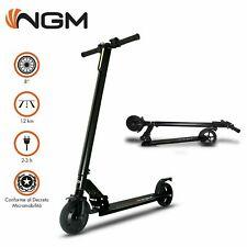 """Monopattino elettrico pieghevole e-scooter ruote 8"""" 250W 20 km/h Display LCD"""