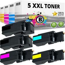 5x XL TONER für DELL E525 E525W H3M8P WN8M9 MWR7R VR3NV SET