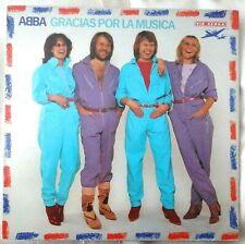 ABBA - GRACIAS POR LA MUSICA LP ORIGINAL VINYL ALBUM EX/EX