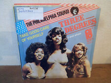 """SP 7"""" THREE DEGREES - Take good care of yourself  THE PHILADELPHIA SOUND HOLLAND"""