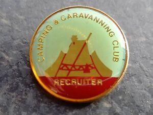 CAMPING & CARAVANNING CLUB RECRUITER BADGE