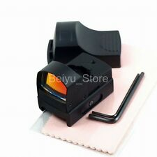 Táctico Holográfica Reflex Micro Mini Compacto Visor De Punto Rojo Juego de rifle alcance