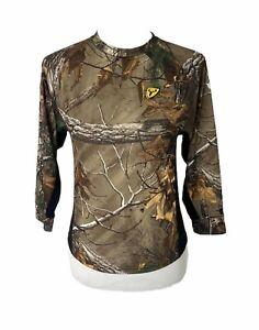 Girls size medium scent blocker S3 bone collector Long sleeve camo t-shirt
