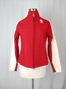 HBC Hudson Bay Company Team Canada 2006 Olympic Girl's Large White Red Jacket