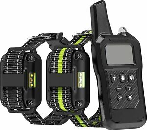 FunniPets Dog Training Collar, 2600ft Range Dog Shock Collar with Remote