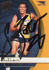 Sam Butler Hand Signed 2015 West Coast Eagles AFL Card