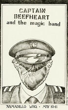 Captain Beefheart and the Magic Band - 1974 - Concert Poster