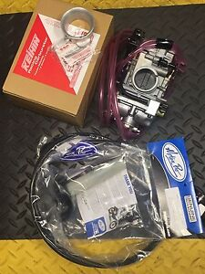 NEW GENUINE Keihin FCR MX 39 Flatslide Carburetor Kit Suzuki DRZ 400SM 400-SM