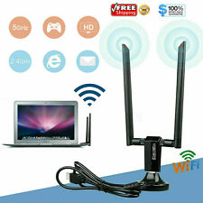 1200Mbps Long Range AC1200 Dual Band 5GHz Wireless USB 3.0 WiFi Adapter Antennas