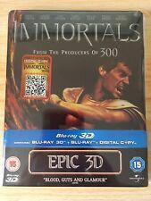 Immortals 3D Blu Ray Steelbook