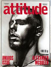ATTITUDE #263 November 2015 Awards Issue ALEXANDER McQUEEN VIVIENE WESTWOOD @New