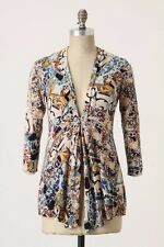 ANTHROPOLOGIE Sparrow Talavera Cardigan XS X-Small Sweater Lightweight Swing