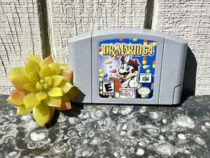 Dr. Mario 64 (Nintendo 64, 2001) N64 Cartridge Video Game Tested Authentic