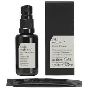 Skin Regimen 10.0 Tulsi Booster Nourishing rejuvenating OIL 0.84 oz New in Box