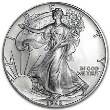 1992 1 oz Silver American Eagle BU - SKU #1074