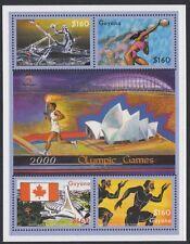 GUYANA:2000 Olympic Games ,Sydney sheetlet SG5882-5 MNH