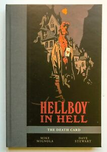 Hellboy In Hell Death Card V 2 NEW SDCC 2016 Dark Horse Graphic Novel Comic Book