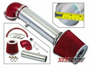 RED 2001 2002 2003 2004 Cherokee/Grand Cherokee 4.0 L6 Short Ram Air Intake 3""