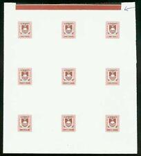 Kiribati 1981 Postage Due set COMPOSITE PROOF SHEET-3