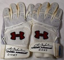 LANCE BERKMAN GAME USED AUTOGRAPHED SIGNED 2007 BATTING GLOVES HOUSTON ASTROS