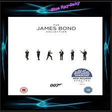 JAMES BOND - COMPLETE 1 - 24 MOVIE COLLECTION *** BRAND NEW BLURAY BOXSET**