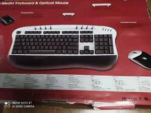 BTC USB, PS2,Wireless Keyboard Presenter Mouse