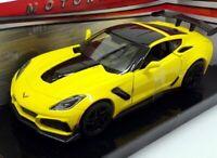 Corvette ZR1, 2019, Yellow, 1/24 Motormax