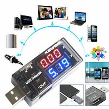 Useful LED USB Charger Current Voltage Charging Detector Meter Voltmeter Ammeter