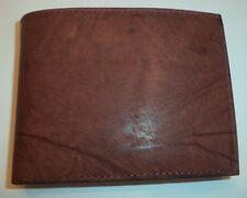 John Weitz Convertible Genuine Leather Billfold Wallet, Brown