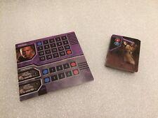 Star Wars Epic Duels Replacement Mace Windu clonetrooper Complete Deck Card