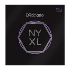 D'ADDARIO NYXL Nickel Wound Cordes pour guitare électrique, Medium, 11-49 (NYXL1149)