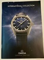 OMEGA International Collection March 2015- Watch Catalogue RARE IN DEALERS ONLY