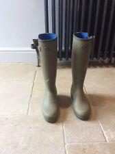 Le Chameau Vierzonords Ladies Neoprene Lined Wellingtons Boots, Size 7(Euro 40)