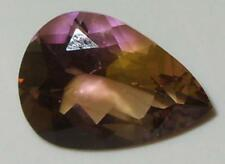 9.04ct Stunning Natural Bolivian Blended Ametrine Pear Cut 18x13mm SPECIAL