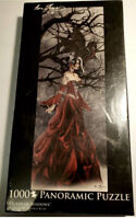 Queen Of Shadows by Nene Thomas (1000-Piece Panoramic Puzzle) fantasy dragon NEW