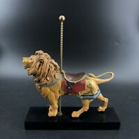 """Vintage Hamilton Collection Art of the Carousel """"The Majestic Lion"""" Figurine"""