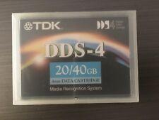 1 TDK DC4-150 DDS-4 150M 20GB/40GB DAT40 data tape cartrtridge NEW  sealed ONE