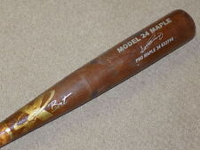 Vladimir Guerrero Game Used Maple X-Bat Expos Angels HOF
