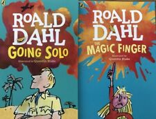 Going Solo and The Magic Finger By Roald Dahl 2 NEW Paperback Books