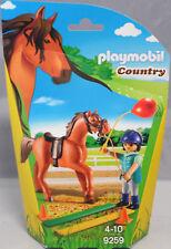 PLAYMOBIL 9259 Pferdetherapeutin Pferd Sattel Zaumzeug Luftballon Bretter NEU