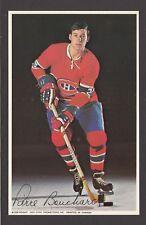 1969-71  MONTREAL CANADIENS POSTCARDS  PIERRE BOUCHARD   INV  J7351