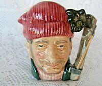 Royal Doulton Toby Character (small) Lumberjack AX 1966 woodcutter BEARD