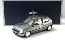 1:18 Norev Renault Clio 16S 1991 grey NEW bei PREMIUM-MODELCARS