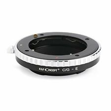 K&F Concept lens mount adapter KF-CGE With focus ring