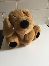 Chad valley medium nosey soft toy dog 10 inches tall 26cm